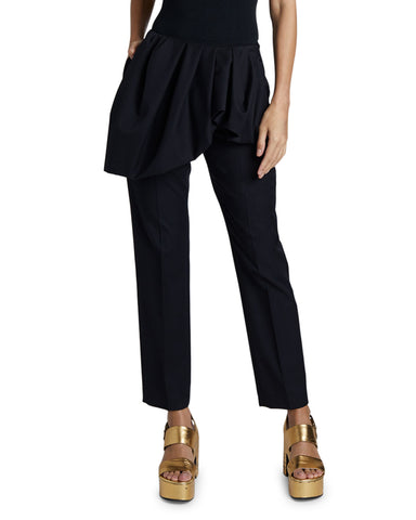 Dries Van Noten Ruffled Cotton-Wool Pants(Pick Up In Store Only)