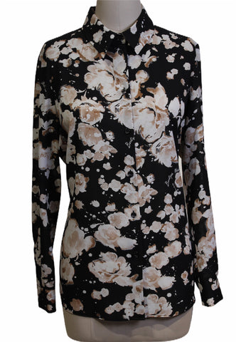 Moschino Floral Printed Blouse