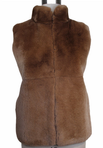 Peserico Fur Vest with Knit Back (Pick Up In Store Only)