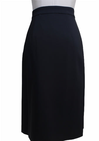 Emilio Pucci Black Pleated Skirt with Sequin Detail (Pick Up In Store Only)