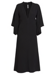 Victoria Beckham Drape Sleeve Midi Dress (Pick Up In Store Only)