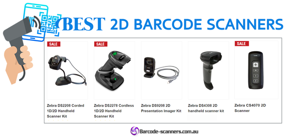 The Best 2D(QR) barcode scanners for your business