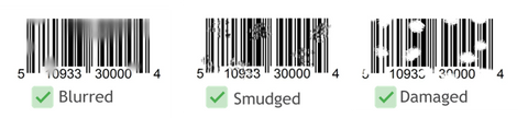 best 2D barcode scanners damaged