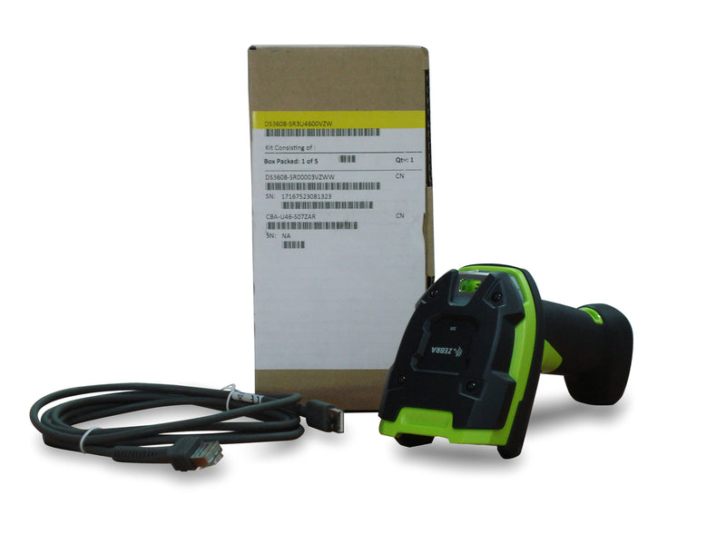 Zebra DS3608-SR Corded Scanner