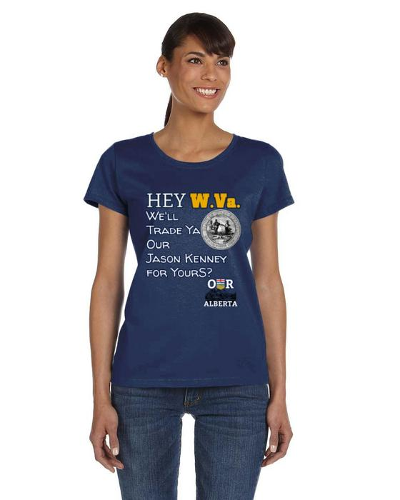 Our Alberta Trade Kenney Ladies Tee