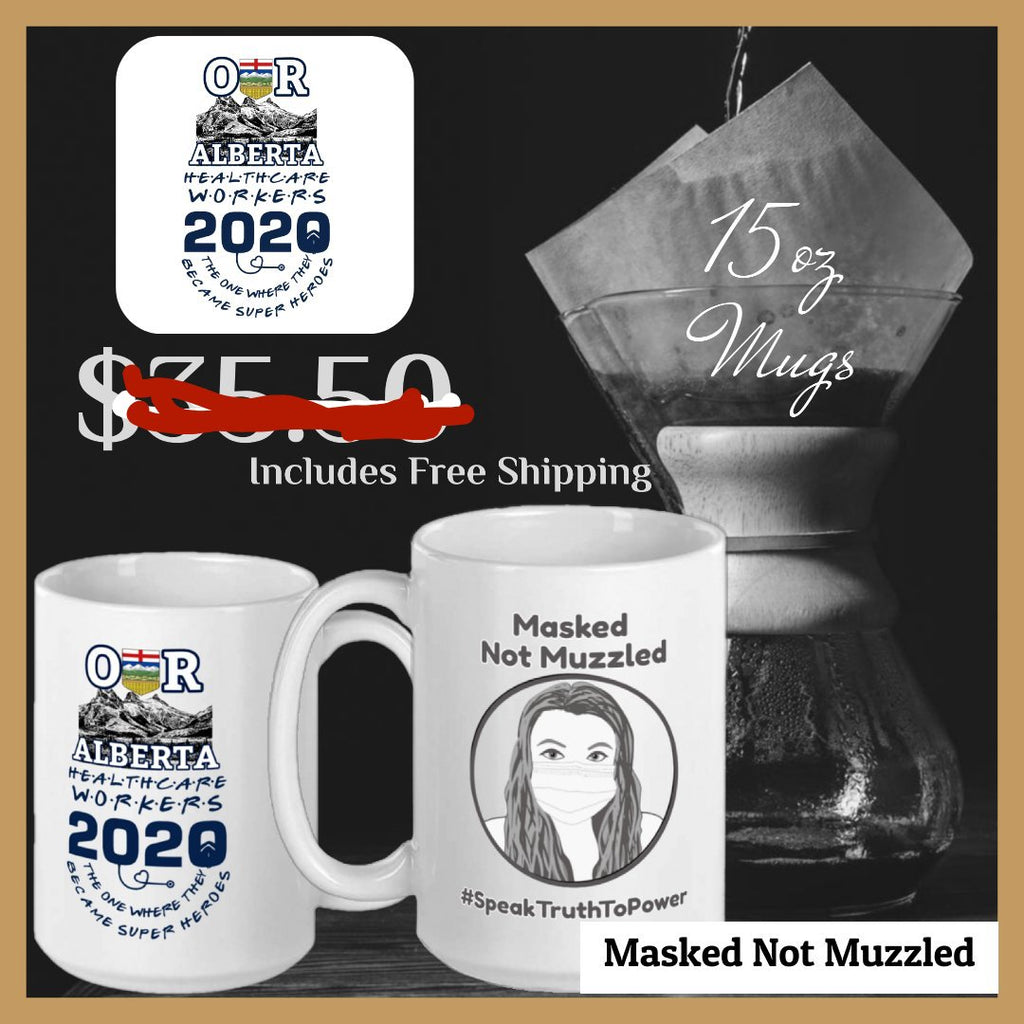 Masked Not Muzzled Mug