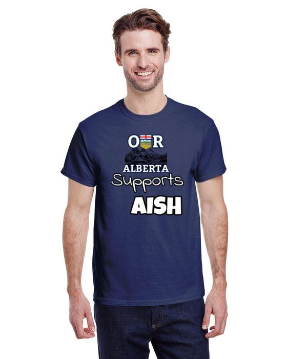 Our Alberta Supports AISH Tee