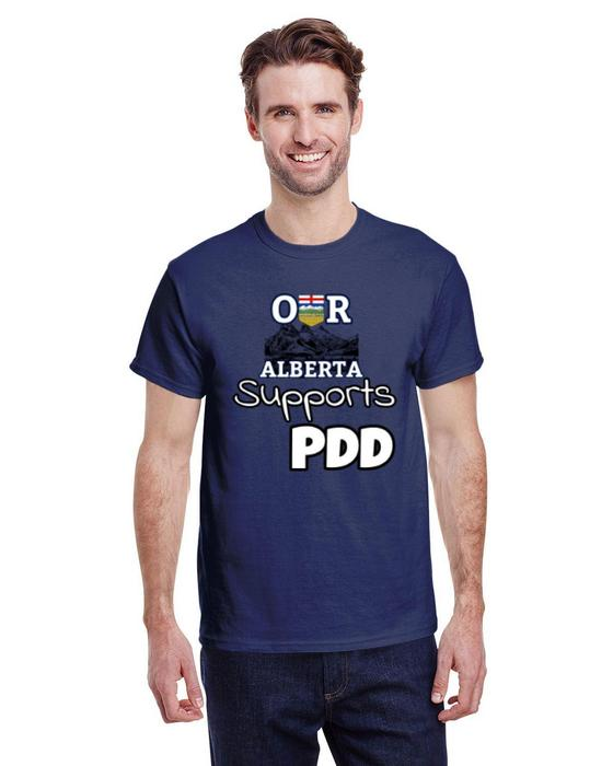Our Alberta Supports PDD Tee