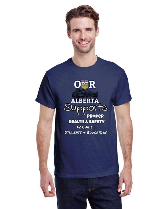 Our Alberta Supports Student PPE Tee