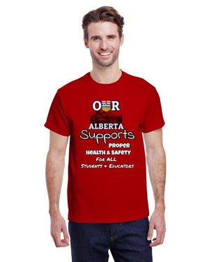 Our Alberta Supports Student PPE Fundraiser Tee