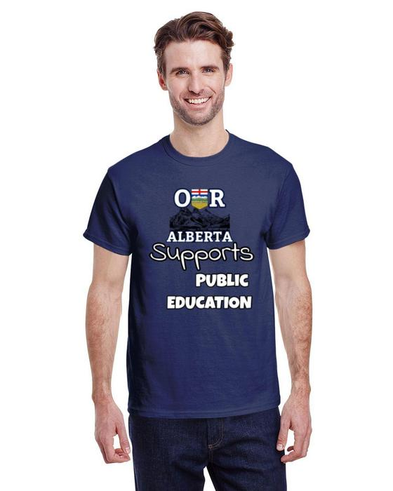 Our Alberta Supports Public Education Tee