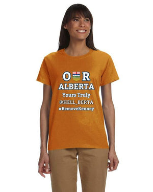 Our Alberta Yours Truly Hell_Berta Ladies Tee