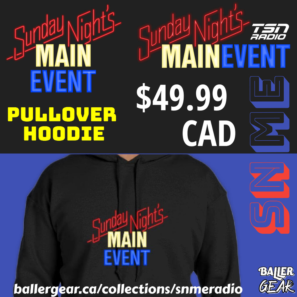 SNME Radio Pullover Hoodie