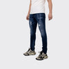 Men's Tribal Society Tribal Distressed Jeans - Blue