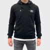 Men's Tribal Society Black Plate Lightweight Hoodie - Black