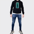 Men's Tribal Society Seth Lightweight Hoodie - Black