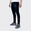 Men's Tribal Society TRBL Range Distressed Jeans - Indigo