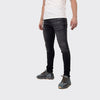 Men's Tribal Society TRBL Range Distressed Jeans - Dark Grey
