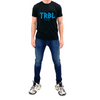TRBL Glitch Premium T Shirt - Black