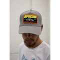 Men's Tribal Society Distressed Apache Cap - Grey/Orange