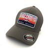 Men's Tribal Society Mount Fuji Flexi Cap - Grey