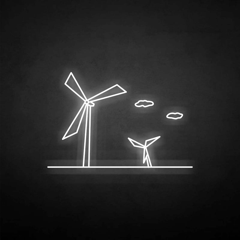 'windmill' neon sign