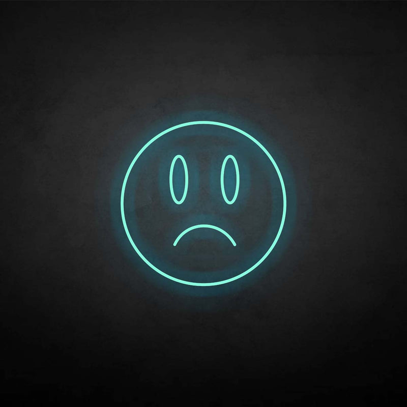 'Wry smile' neon sign