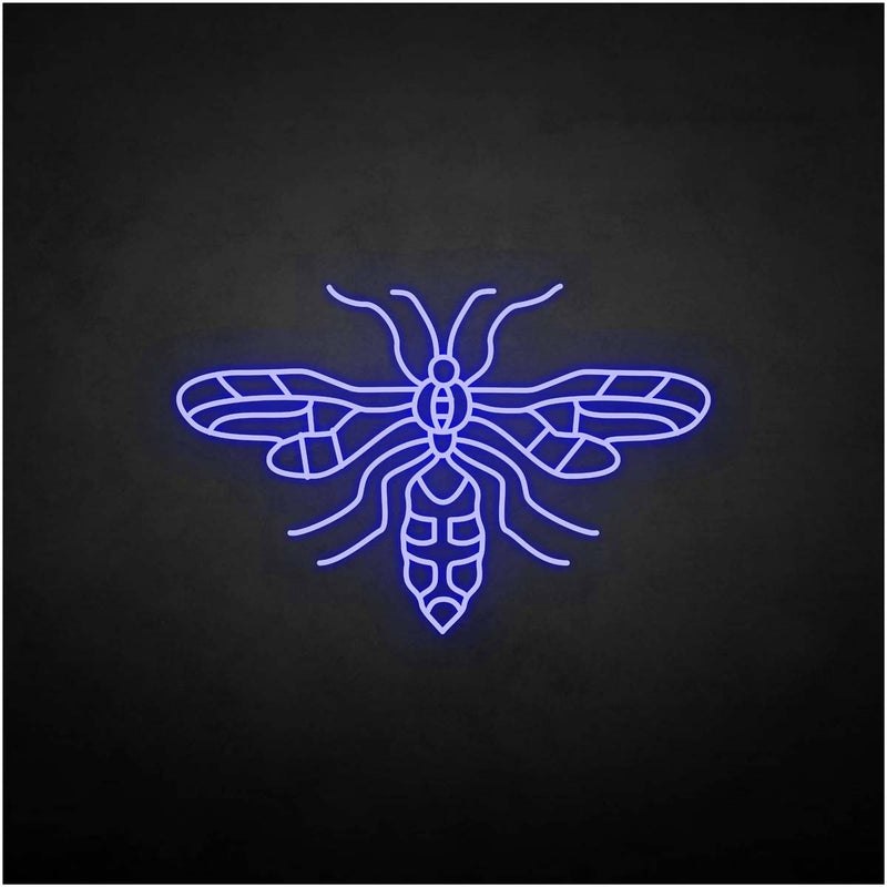 'wasp' neon sign