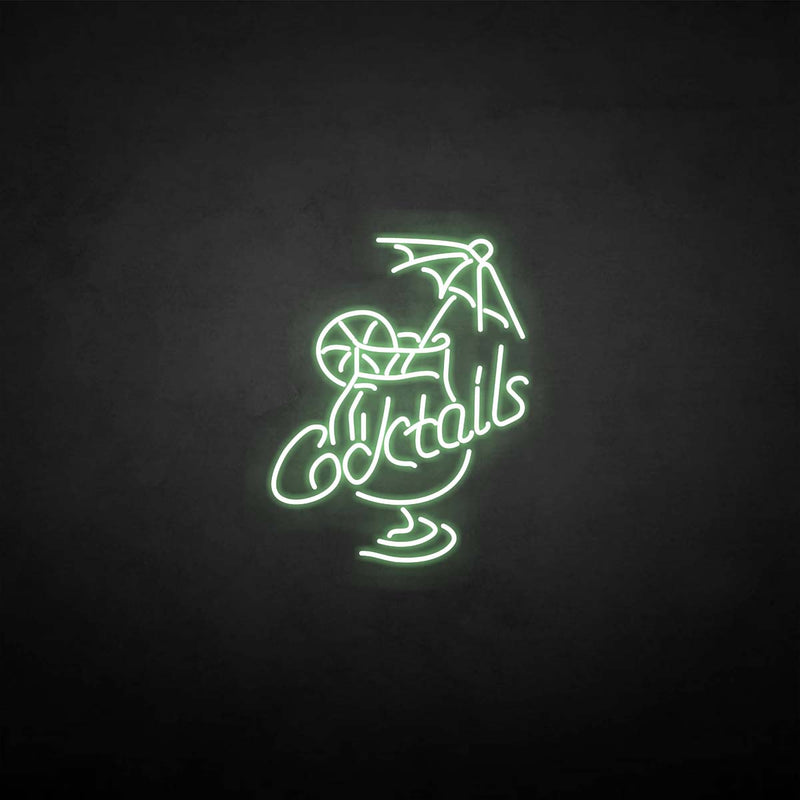 'cocktail' neon sign
