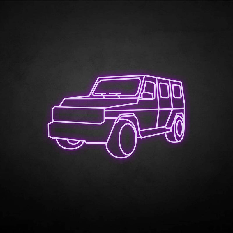 'Jeep' neon sign