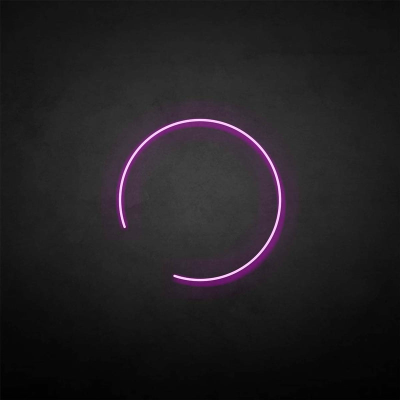 'Eclipse' neon sign
