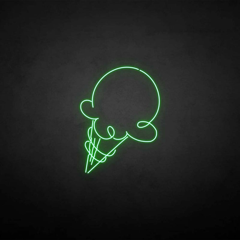 'Ice cream3' neon sign