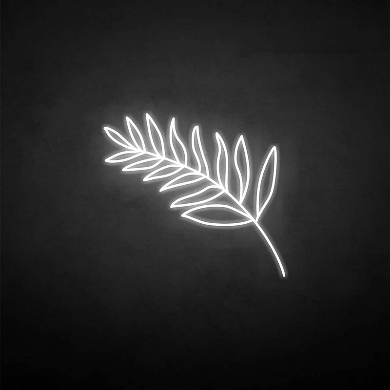'Olive branch' neon sign
