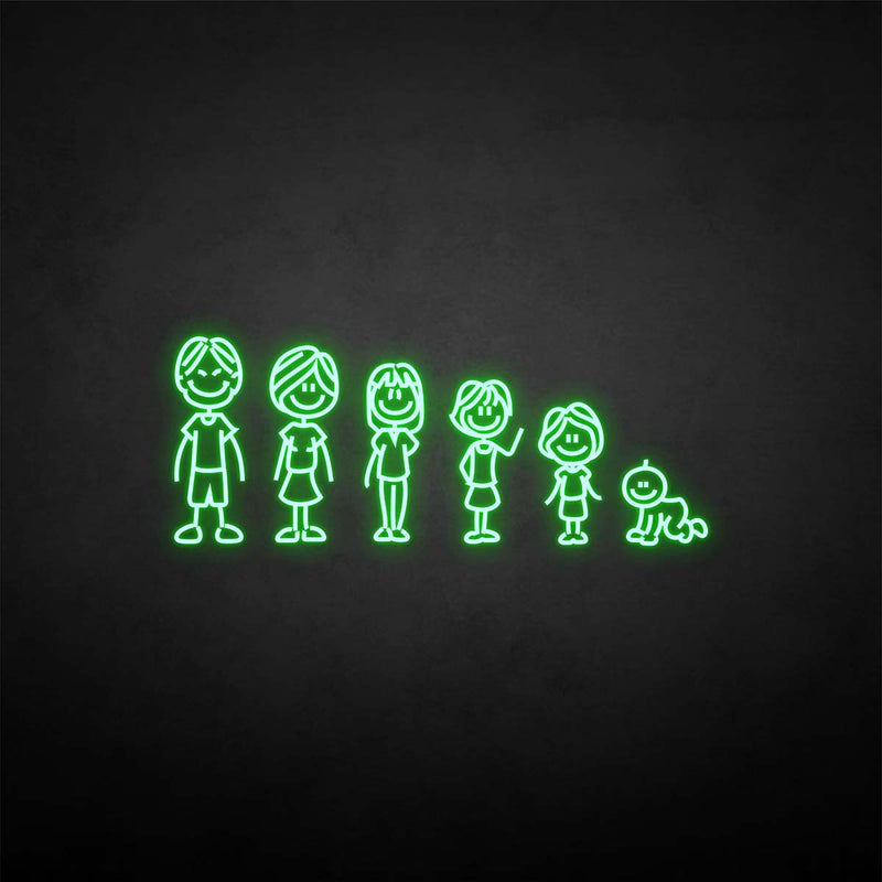 'Family' neon sign