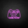 'GAME ROOM2' neon sign