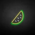 'Watermelon' neon sign