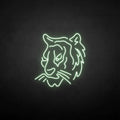 'Tiger head' neon sign