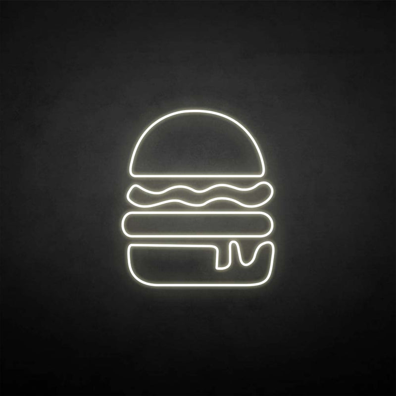 'Humburger2' neon sign