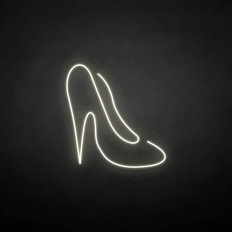 'Hight heeled shoes' neon sign
