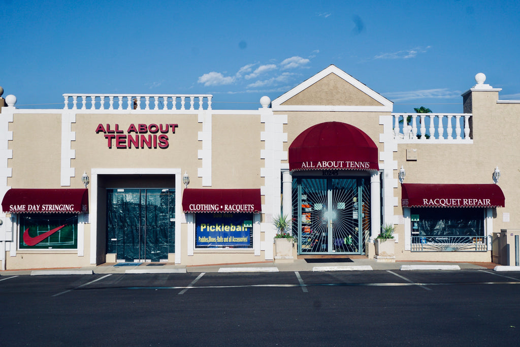 All About Tennis Store Front