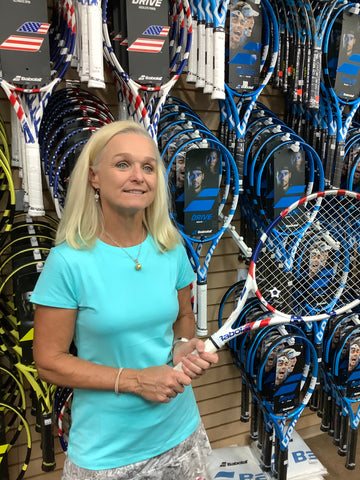 Pam Ponwith at All About Tennis