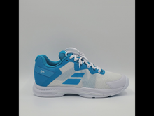 Load image into Gallery viewer, Babolat Women's SFX 3 All Court Tennis Shoes - Scuba Blue