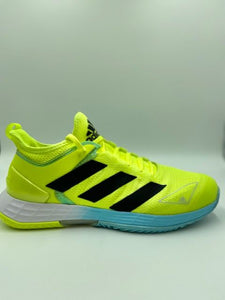 Adidas Men's Adizero Ubersonic 4 M Tennis Shoe- Yellow