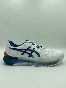 Asics Men's Gel Resolution 8 - White/ Marko