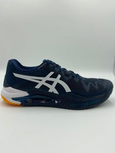 Asics Men's Gel Resolution 8 Shoes - French Blue/White