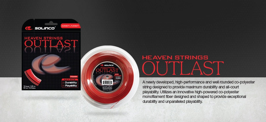 Solinco Heaven Strings Outlast Tennis String
