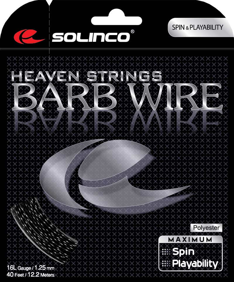 Solinco Heaven Strings Barb Wire Tennis String