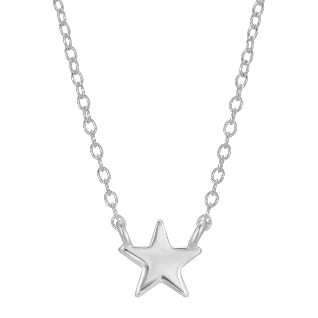 Tiny Star Necklace - Sterling Silver