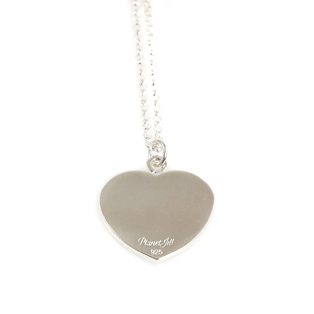 Simple Love Photo Necklace - Sterling Silver