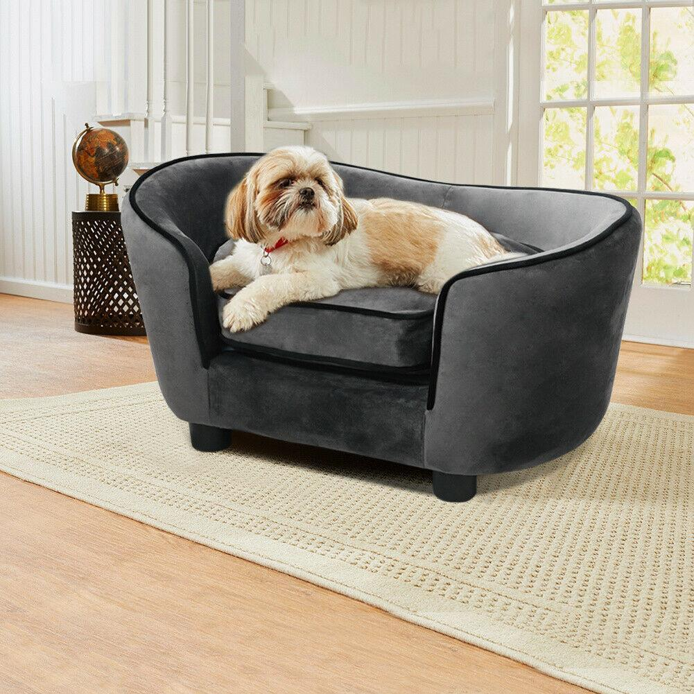 NEW - Royal Luxury Dog Couch Bed - d-deal-depot